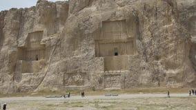 Necrópolis antiga de Naqsh-e Rustam filme