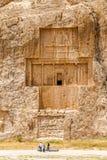 Necrópolis antigua de Naqsh-e Rustam Foto de archivo libre de regalías
