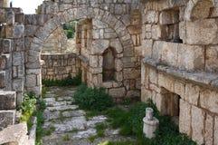 Necrópolis antigua, neumático, Líbano Foto de archivo libre de regalías