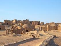 Necrópolis del egipcio de Bagawat Fotos de archivo libres de regalías