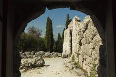 Necromanteio Ephyra Prevesa Grecia Fotografie Stock