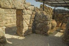 Necromanteio Ephyra Prevesa Grecia Fotografia Stock