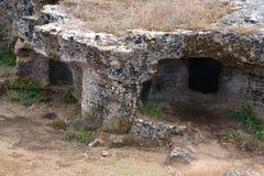 Necropoli preistorica immagine stock libera da diritti