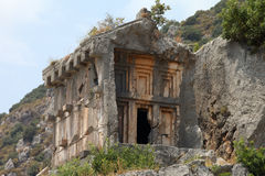 necropolis Royaltyfri Fotografi