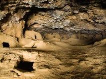 Necropolis in bolivian Galaxia cave Stock Photo