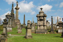 The Necropolis, Glasgow, Scotland Royalty Free Stock Images