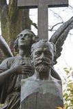 necropolis Grobowiec kompozytor Tchaikovsky Obraz Stock