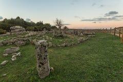 Necropolis Li Muri Fotografia Royalty Free