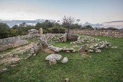 Necropolis Li Muri Zdjęcie Stock