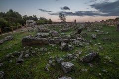 Necropolis Li Muri Fotografia Stock