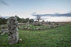 Necropolis of Li Muri Royalty Free Stock Image