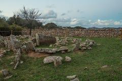 Necropolis of Li Muri Royalty Free Stock Photo