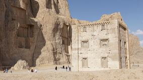 Necropolis, Naqsh-e Rostam, Iran, Asia Stock Photo