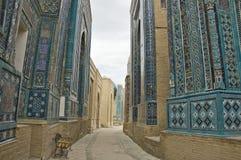 necropolis Samarkand fotografia royalty free