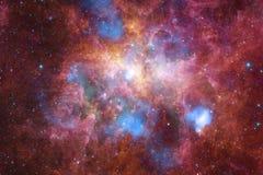 necropolis Weltraumbild, das für Tapete passend ist stock abbildung