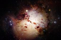 necropolis Weltraumbild, das für Tapete passend ist lizenzfreie abbildung