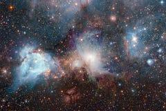 necropolis Weltraumbild, das f?r Tapete passend ist vektor abbildung