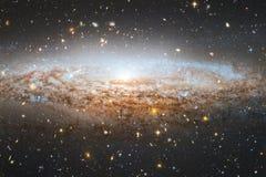 necropool Kosmische ruimtebeeld dat voor behang geschikt is royalty-vrije illustratie