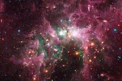 necropool Kosmische ruimtebeeld dat voor behang geschikt is vector illustratie