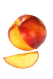 Nectarina Imagen de archivo libre de regalías