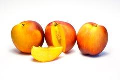 Nectarina do pêssego Imagens de Stock