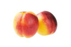Nectarina madura Imagem de Stock
