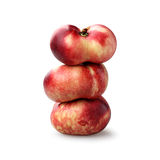Nectarinas del buñuelo Imagen de archivo libre de regalías