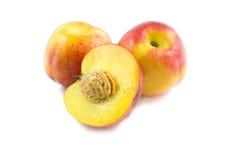 Nectarinas jugosas maduras Foto de archivo libre de regalías