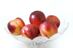 Nectarine. royalty free stock photo