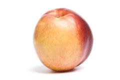Nectarine. Isolated on white background Royalty Free Stock Photo