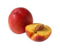 Nectarine. Stock Photos