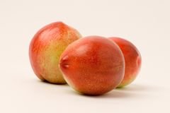 Nectarine. Is a fruit native to China royalty free stock image
