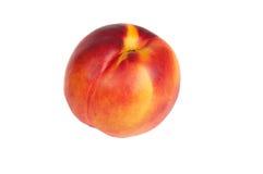 Nectarine. Red nectarines on white background Royalty Free Stock Photography