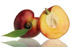 Nectarine. Fresh nectarine Royalty Free Stock Images