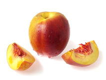 Free Nectarine And Pieces Royalty Free Stock Photography - 3149267