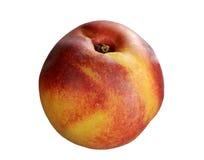 Nectarine au-dessus de blanc Image libre de droits