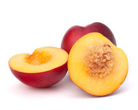 Nectarine fruit Stock Image