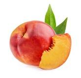 Nectarine fruit isolated Royalty Free Stock Photo