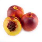 Nectarine fruit isolated Royalty Free Stock Image