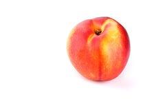The Nectarine fruit. On the white background Stock Images