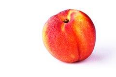 The Nectarine fruit. On the white background Stock Photography