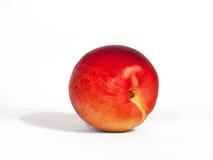 Nectarine op een witte achtergrond Royalty-vrije Stock Foto