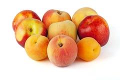 Nectarine, Peach And Apricot Stock Image