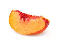 Nectarine peach family fruit Stock Photo