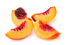 Nectarine peach family fruit Royalty Free Stock Image
