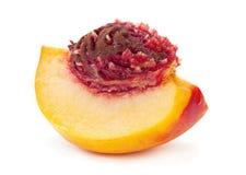 Nectarine peach Stock Photos