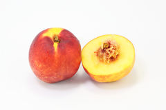 Nectarine peach fruit Royalty Free Stock Image