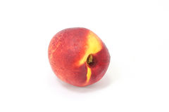 Nectarine peach fruit Stock Image