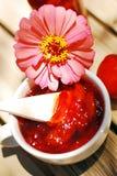 Nectarine, peach jam. Royalty Free Stock Photos