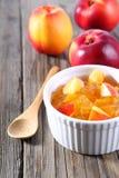 Nectarine, peach jam Stock Image